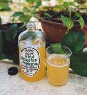 Raw Green Tea Kombucha