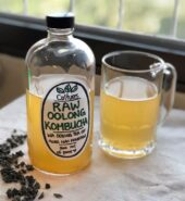Raw Oolong Tea Kombucha